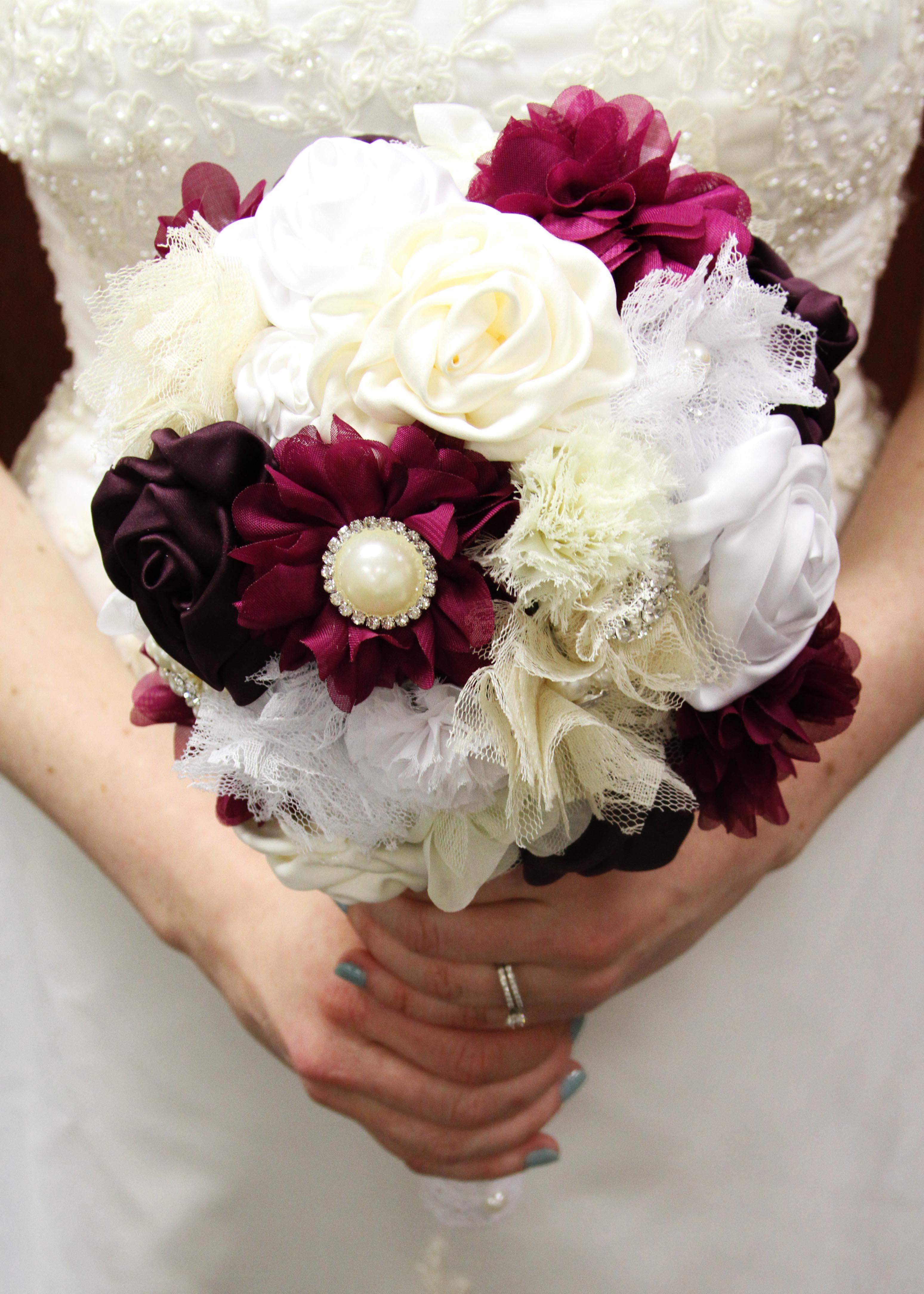 Best ideas about DIY Flower Wedding . Save or Pin DIY Wedding Bouquet Bridal Tutorial Now.