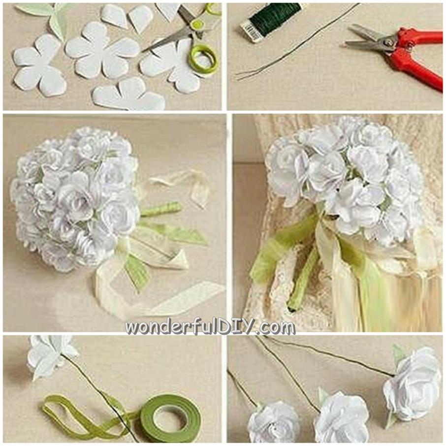 Best ideas about DIY Flower Wedding . Save or Pin Wonderful DIY flower bouquet for wedding Now.
