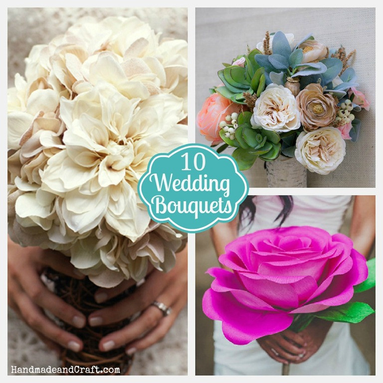 Best ideas about DIY Flower Wedding . Save or Pin 10 DIY Wedding Bouquets Now.