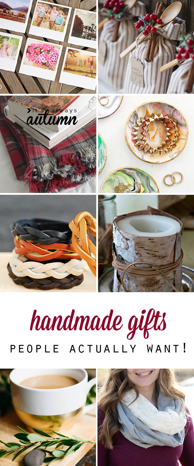 Best ideas about DIY Gift For Christmas . Save or Pin 25 cheap but gorgeous  DIY t ideas It s Always Autumn Now.