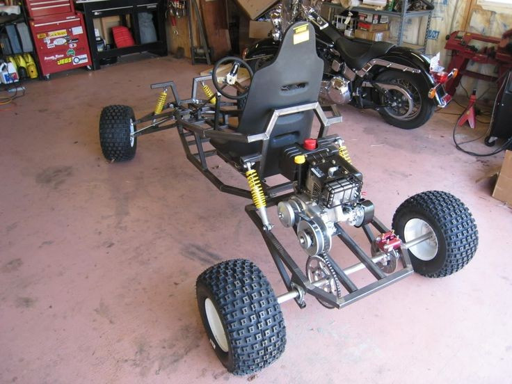 Best ideas about DIY Go Kart Plans . Save or Pin 19 Inspirational Home Built Go Kart Plans Now.