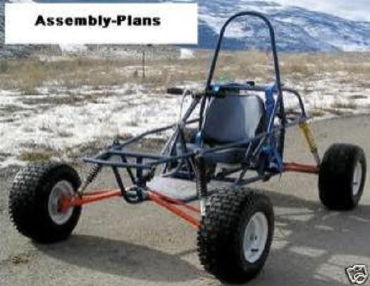 Best ideas about DIY Go Kart Plans . Save or Pin Dune Buggy Go Kart Cart Assembly Plans How to Build Now.