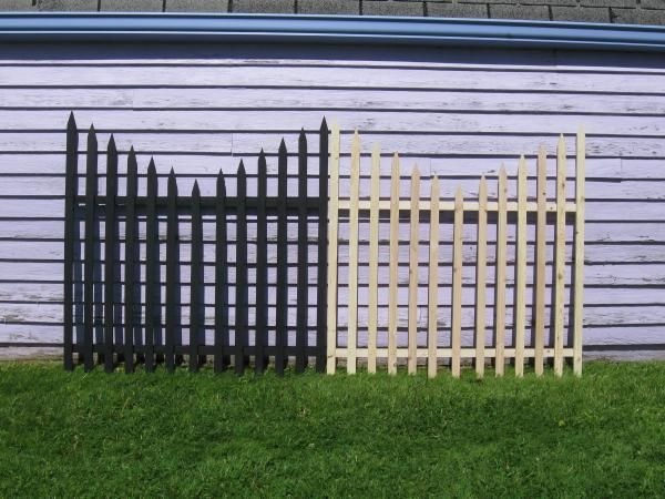 Best ideas about DIY Graveyard Fence . Save or Pin Halloween Yard Decoration WoodWorking Projects & Plans Now.