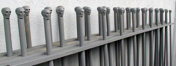 Best ideas about DIY Graveyard Fence . Save or Pin DIY Halloween Graveyard Fence Now.