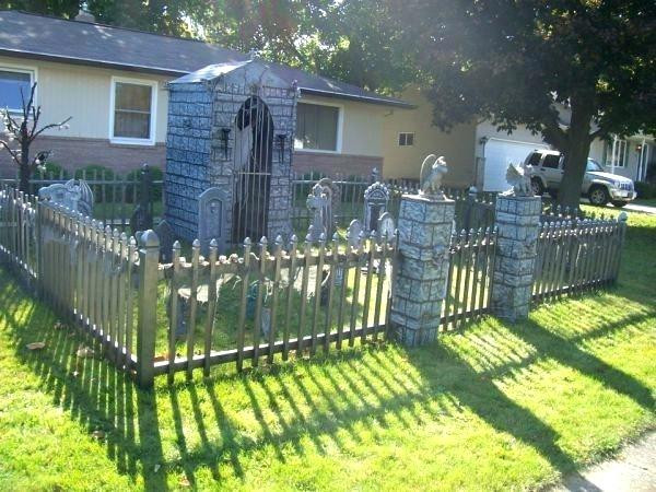 Best ideas about DIY Graveyard Fence . Save or Pin Halloween Cemetery Fence Halloween Cemetery Fence Diy Now.