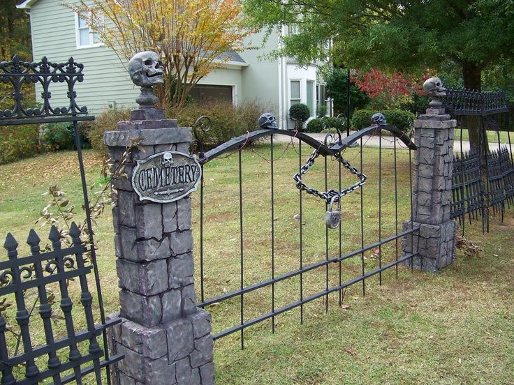 Best ideas about DIY Graveyard Fence . Save or Pin skull wood fence diy Google Search Now.