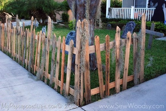 Best ideas about DIY Graveyard Fence . Save or Pin Five Fun Halloween DIY Tutorials My Repurposed Life™ Now.