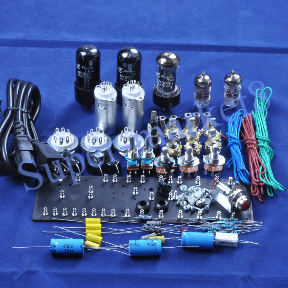 Best ideas about DIY Guitar Tube Amp Kit . Save or Pin Fenders 5E3 Deluxe Guitar Tube Amplifier 6V6 Push Pull Amp Now.