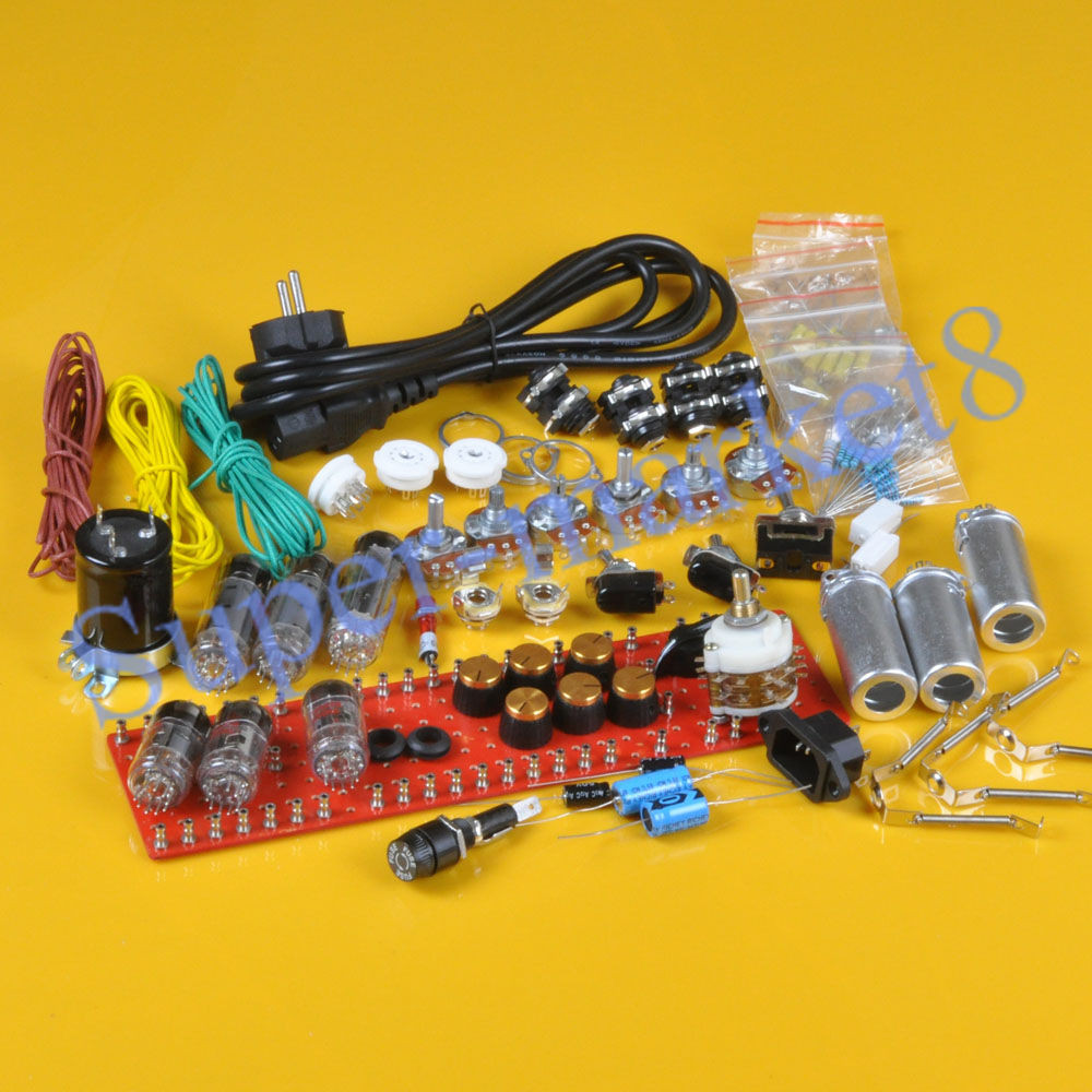 Best ideas about DIY Guitar Tube Amp Kit . Save or Pin Classic British 18W 18Watt Tube Guitar Amp Kit DIY EL84 Now.