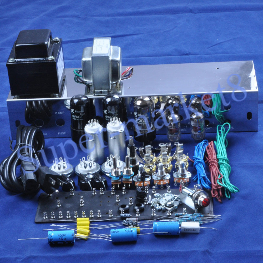 Best ideas about DIY Guitar Tube Amp Kit . Save or Pin Fenders 5E3 Deluxe Guitar Tube Amp 6V6 Push Pull Kit Now.