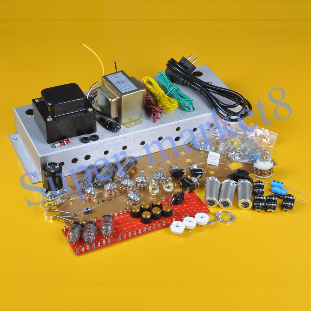 Best ideas about DIY Guitar Tube Amp Kit . Save or Pin Classic British 18W 18Watt Chassis DIY EL84 Amplifier Now.