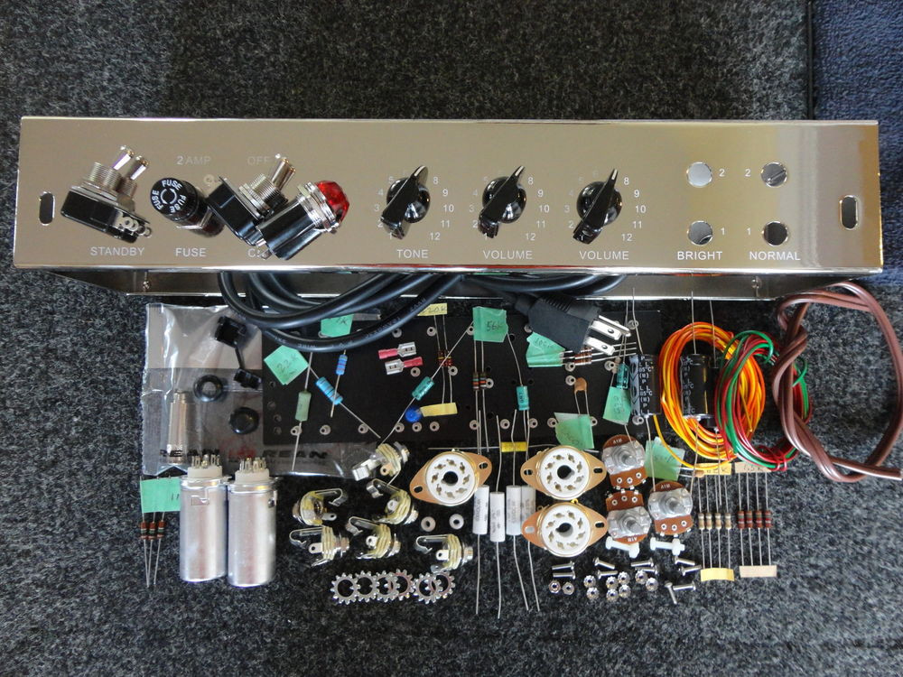 Best ideas about DIY Guitar Tube Amp Kit . Save or Pin Deluxe TWEED DELUXE 5E3 Guitar Amp Tube 5E3 Chassis Kit Now.