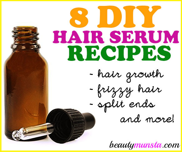 Best ideas about DIY Hair Growth Serum . Save or Pin 8 Best DIY Hair Serum Recipes for All Hair Types More Now.