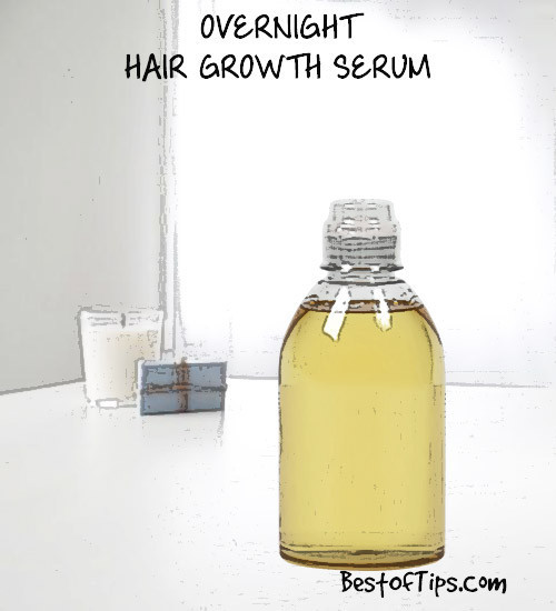 Best ideas about DIY Hair Growth Serum . Save or Pin DIY OVERNIGHT HAIR GROWTH SERUM Best Tips Now.