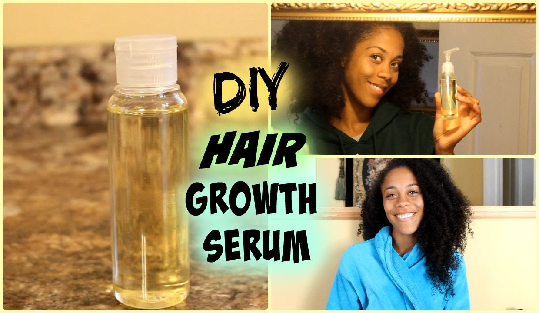 Best ideas about DIY Hair Growth Serum . Save or Pin Natural Hair Hair Growth Serum Now.