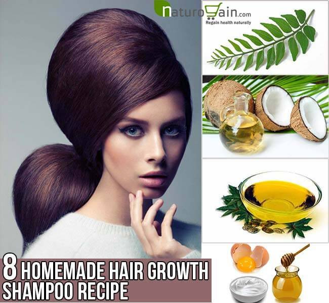 Best ideas about DIY Hair Growth Shampoo . Save or Pin Homemade Hair Growth Shampoo Recipe 8 Homemade Recipes Now.