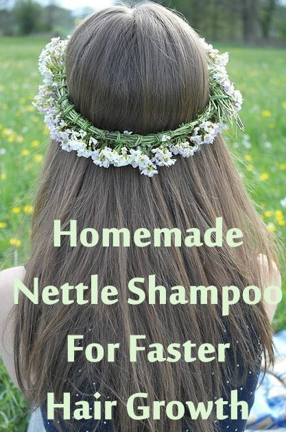 Best ideas about DIY Hair Growth Shampoo . Save or Pin Homemade Nettle Shampoo for faster hair growth Now.