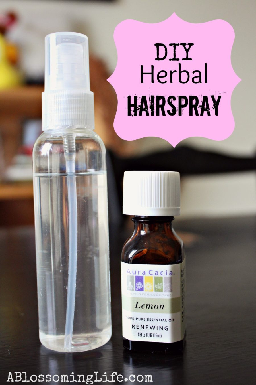 Best ideas about DIY Hair Growth Shampoo . Save or Pin DIY Natural Herbal Hairspray A Blossoming Life Now.
