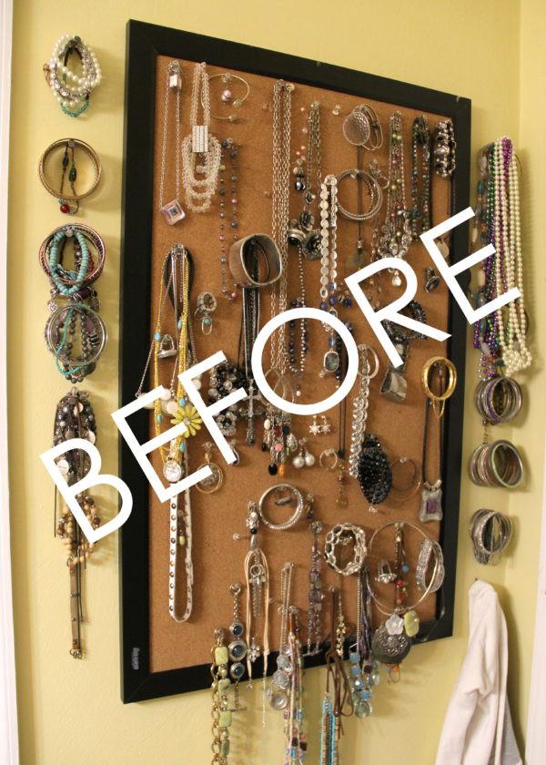 Best ideas about DIY Jewelry Rack . Save or Pin DIY Jewelry Organizer Storage Ideas Artsy Chicks Rule Now.