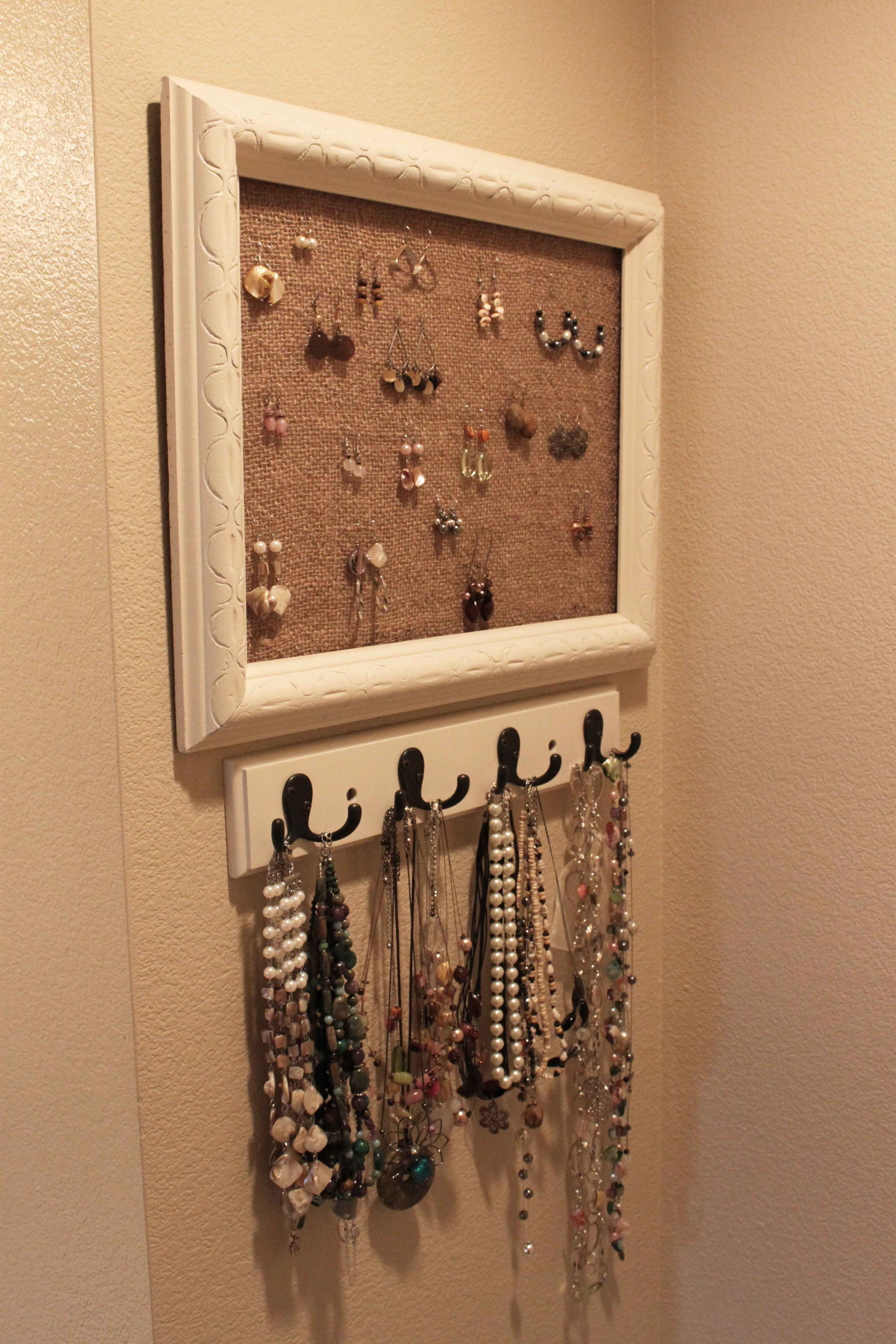 Best ideas about DIY Jewelry Rack . Save or Pin DIY Jewelry Holder Pinching Your PenniesPinching Your Now.