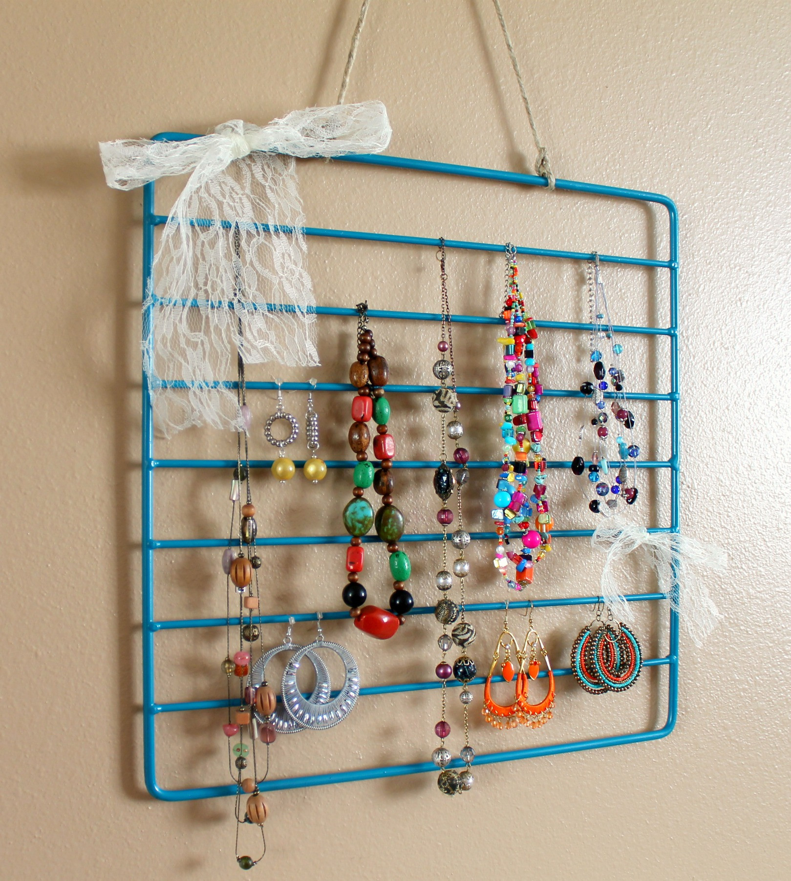 Best ideas about DIY Jewelry Rack . Save or Pin DIY Jewelry Organization Roundup Now.