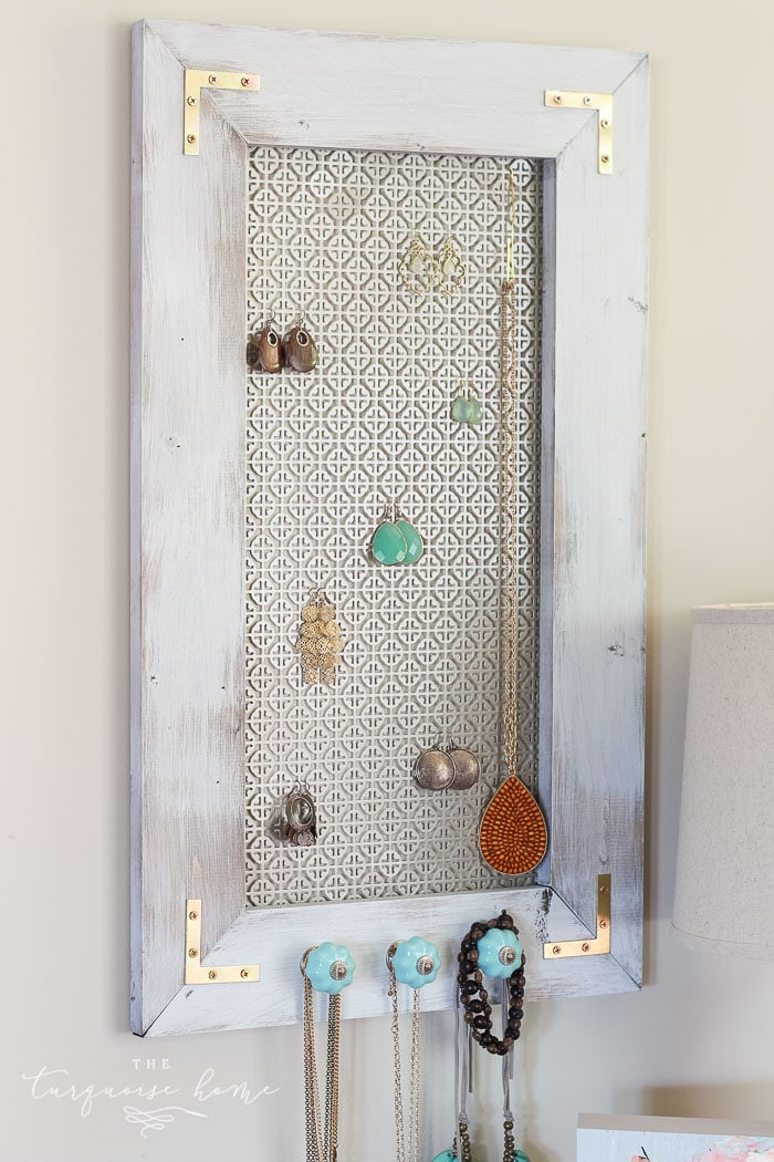 Best ideas about DIY Jewelry Rack . Save or Pin DIY Industrial Jewelry Organizer Now.