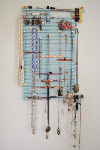 Best ideas about DIY Jewelry Rack . Save or Pin DIY Jewelry Organizer Upcycled Dish Drying Rack Now.