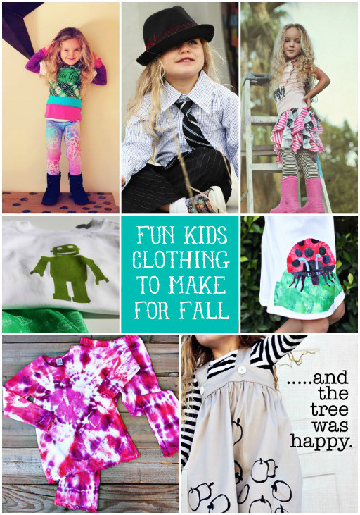 Best ideas about DIY Kids Clothing . Save or Pin Fun DIY Kids Clothing to Make For Fall Now.
