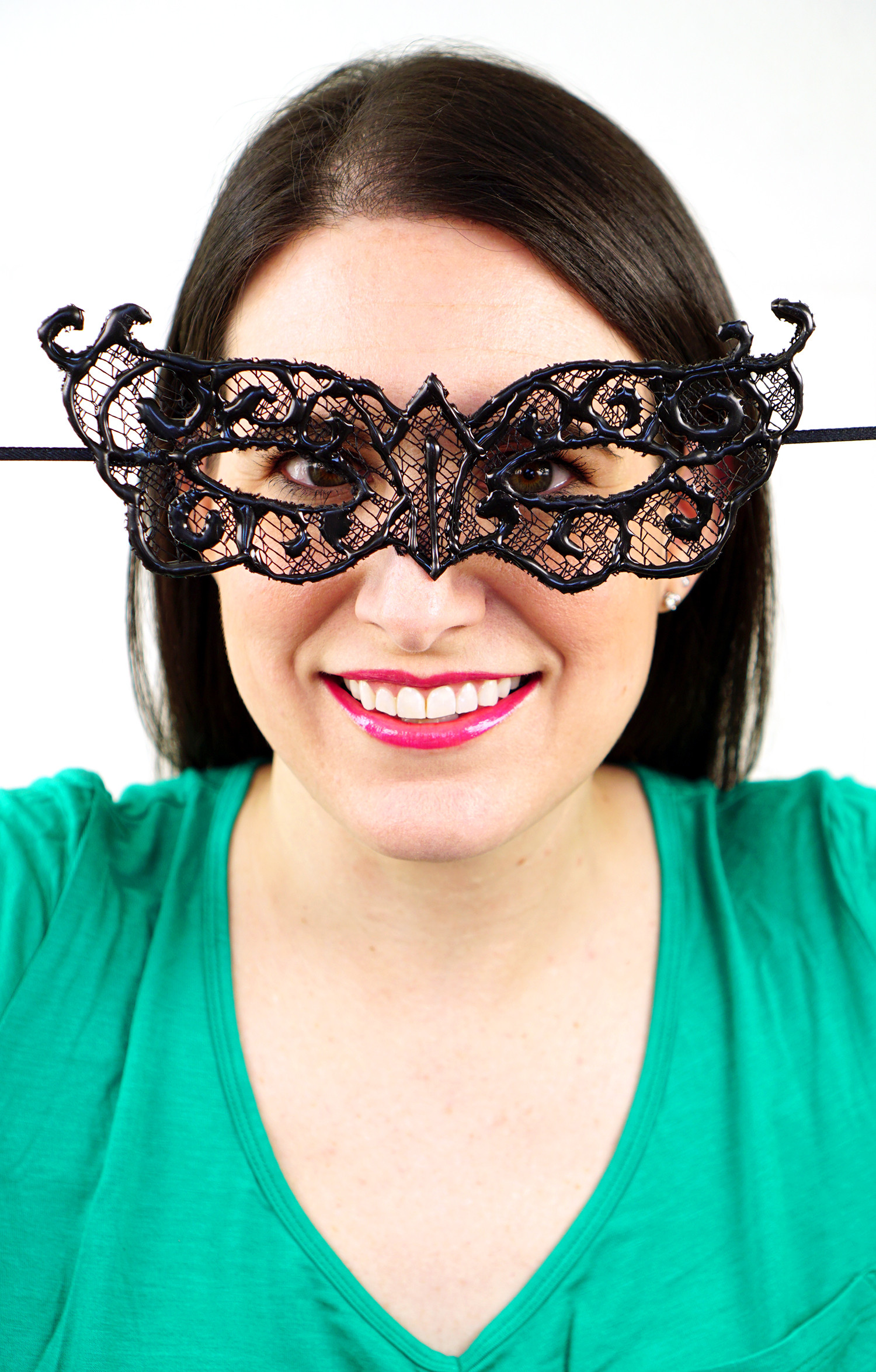 Best ideas about DIY Lace Mask . Save or Pin Easy DIY Lace Masquerade Mask from Hot Glue Happiness is Now.