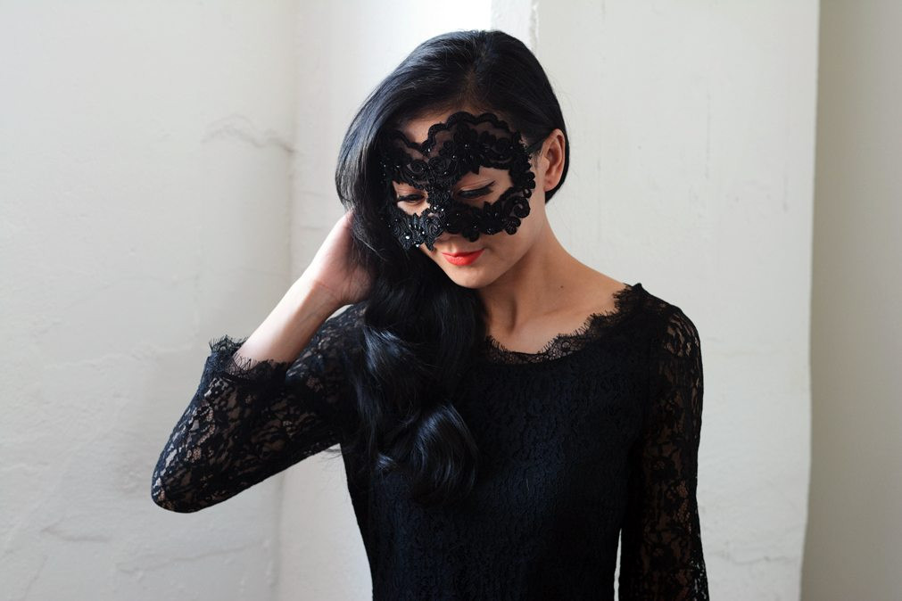 Best ideas about DIY Lace Mask . Save or Pin DIY Lace Mask Now.