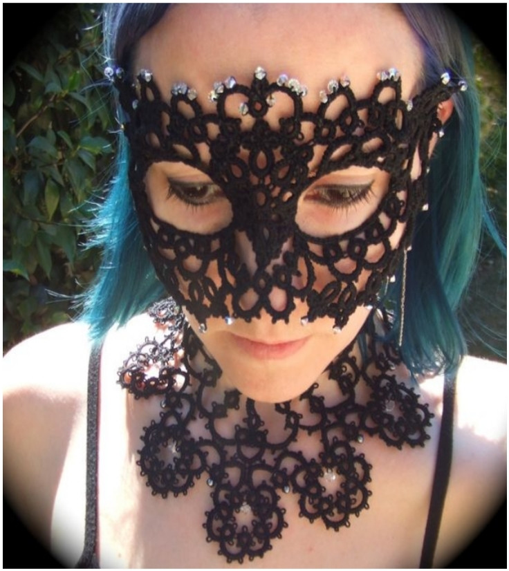 Best ideas about DIY Lace Mask . Save or Pin Top 10 DIY Mardi Gras Carnival Face Masks Top Inspired Now.
