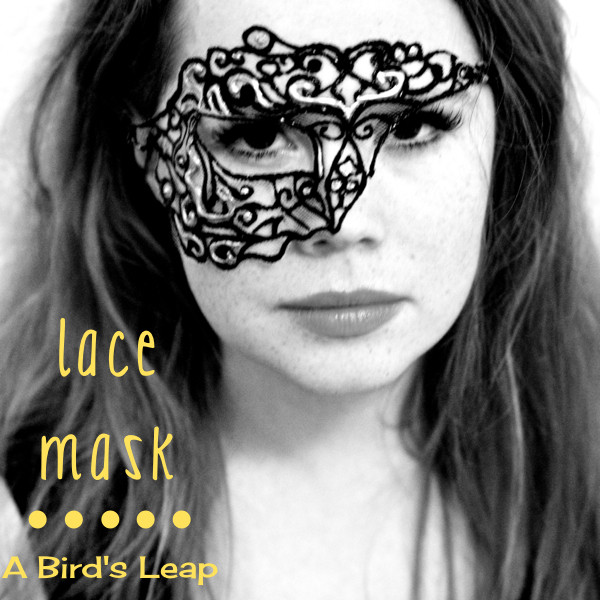 Best ideas about DIY Lace Mask . Save or Pin A Bird s Leap DIY Lace Mask Now.