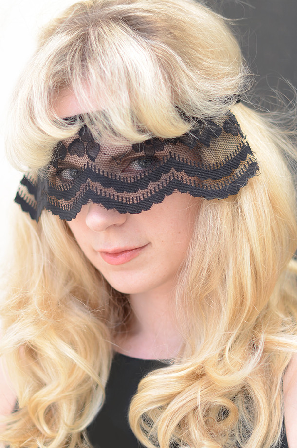 Best ideas about DIY Lace Mask . Save or Pin DIY Glam Lace Mask Camille Styles Now.
