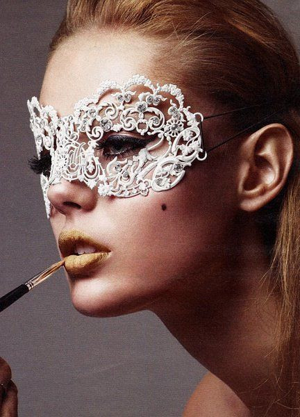 Best ideas about DIY Lace Mask . Save or Pin 4 Easy To Do HALLOWEEN Costumes – The Fashion Tag Blog Now.