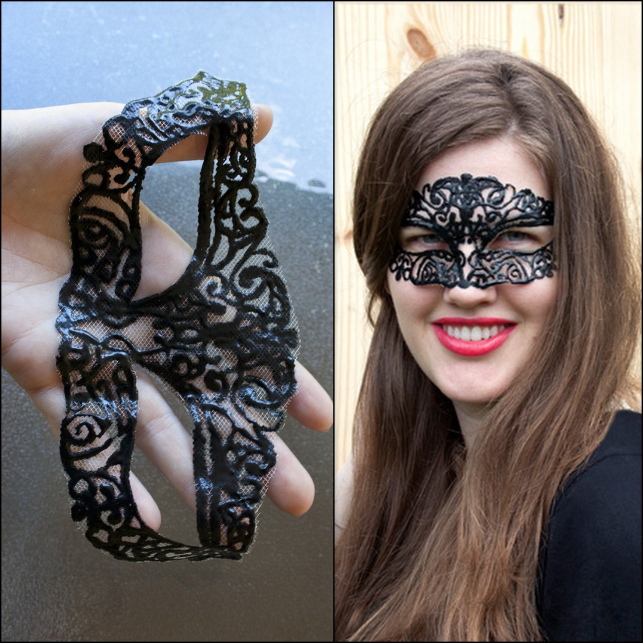 Best ideas about DIY Lace Mask . Save or Pin True Blue Me & You DIYs for Creatives • DIY Masquerade Now.