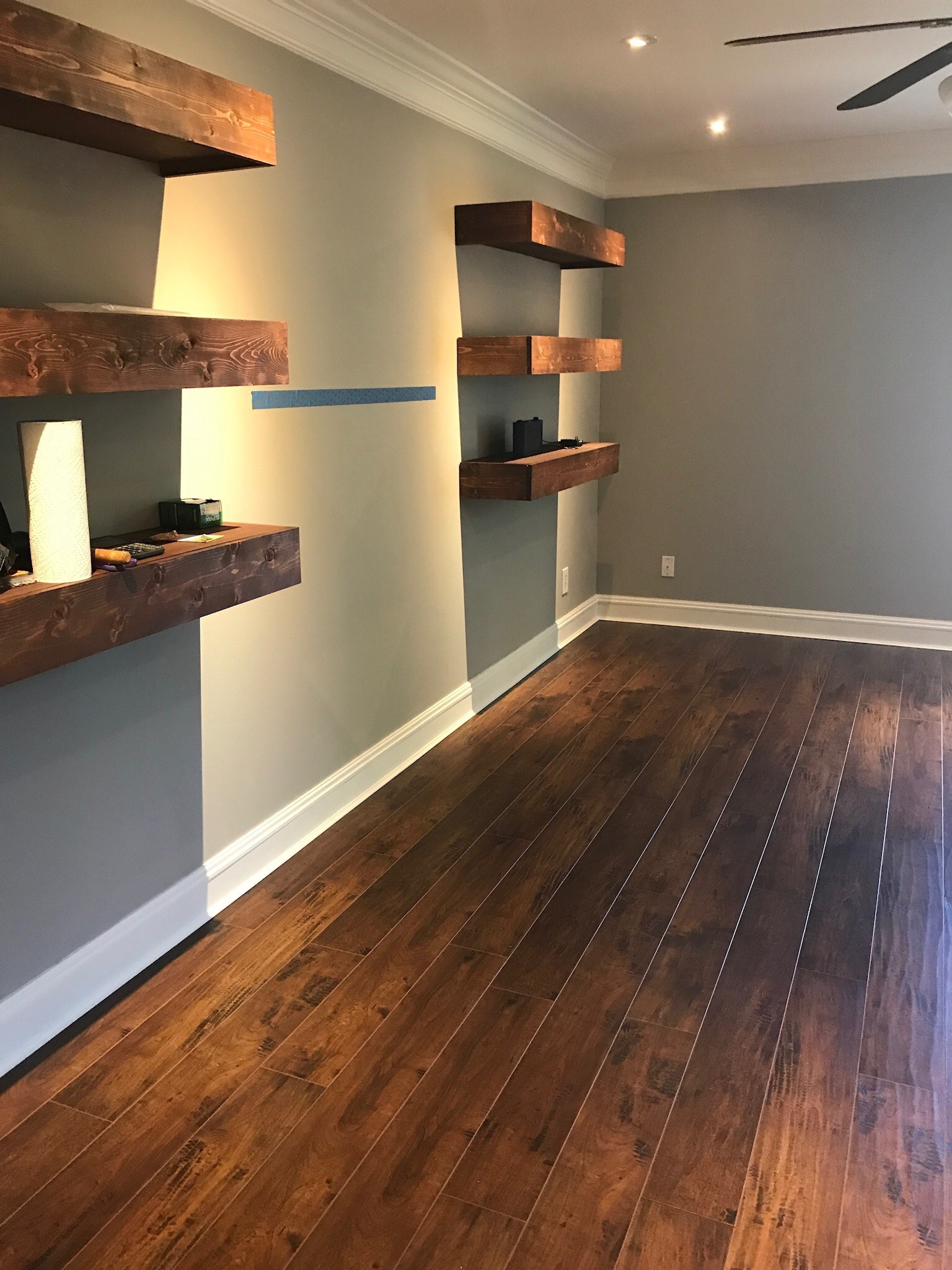 Best ideas about DIY Laminate Floor Installation . Save or Pin Installing Laminate Flooring DIY Bonus Room Makeover Now.