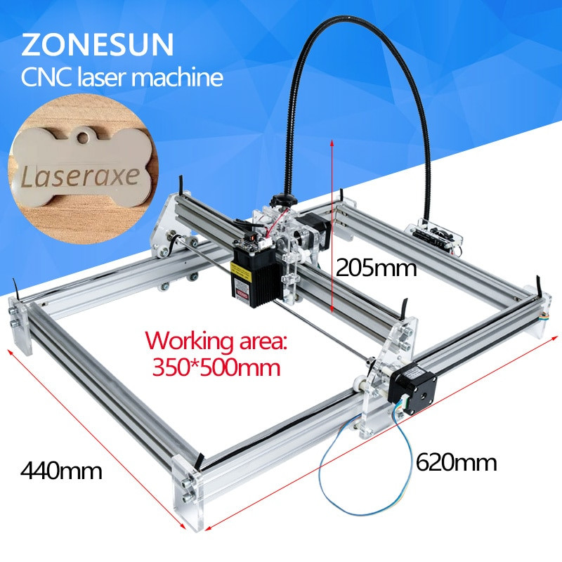 Best ideas about DIY Laser Cutter Kit . Save or Pin 5 5W Desktop Laser Engraver Engraving Cutting Machine DIY Now.