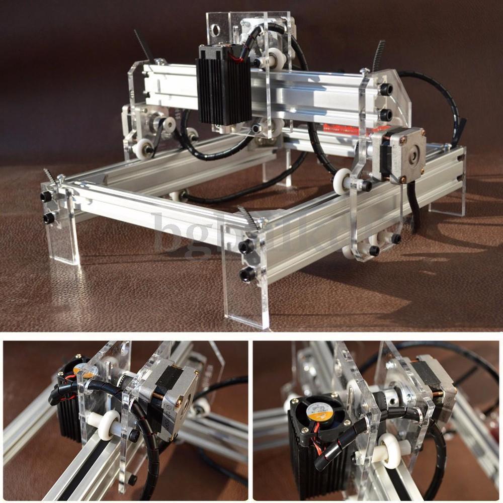 Best ideas about DIY Laser Cutter Kit . Save or Pin 500mw Desktop Laser Engraving Engraver Machine Kit DIY Now.