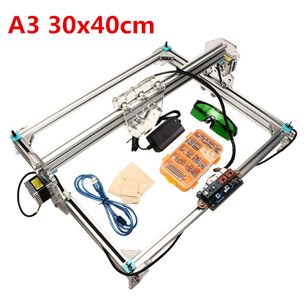 Best ideas about DIY Laser Cutter Kit . Save or Pin A3 30x40cm Desktop DIY Laser Engraver Cutter Engraving Now.