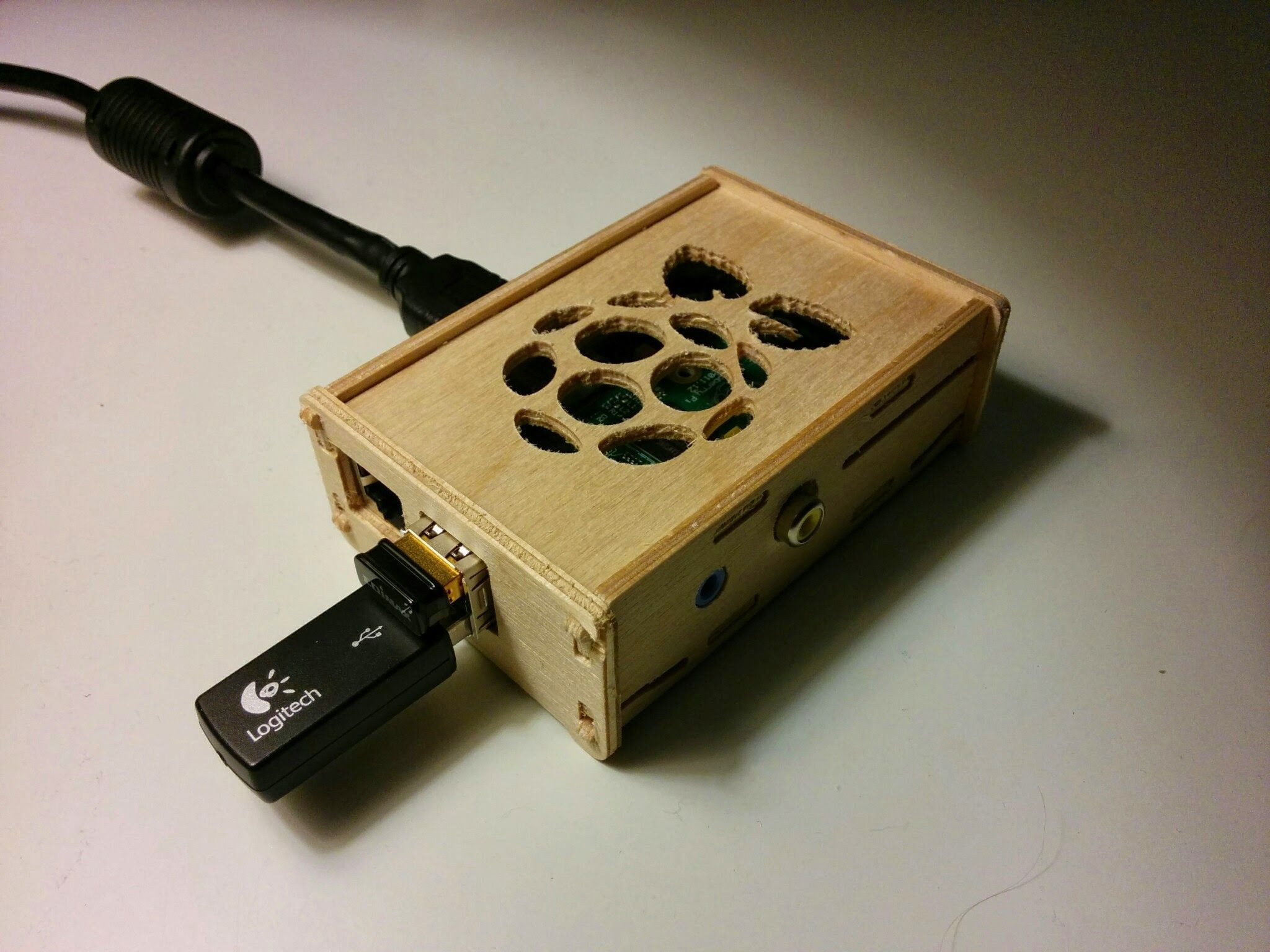 Best ideas about DIY Laser Cutter Plywood . Save or Pin RaspberryPi Plywood Case raspberryPi Pinterest Now.
