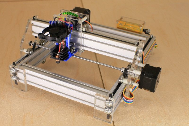 Best ideas about DIY Laser Cutter Plywood . Save or Pin DIY engraving cutting machine EnduranceRobots Now.