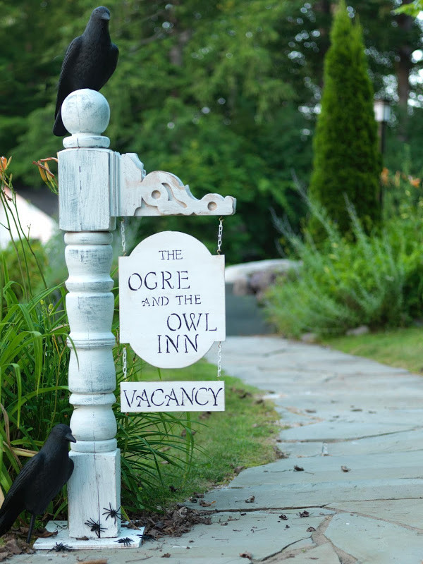Best ideas about DIY Outdoor Sign . Save or Pin Repurpose Outdoor Junk As Halloween Decor Now.