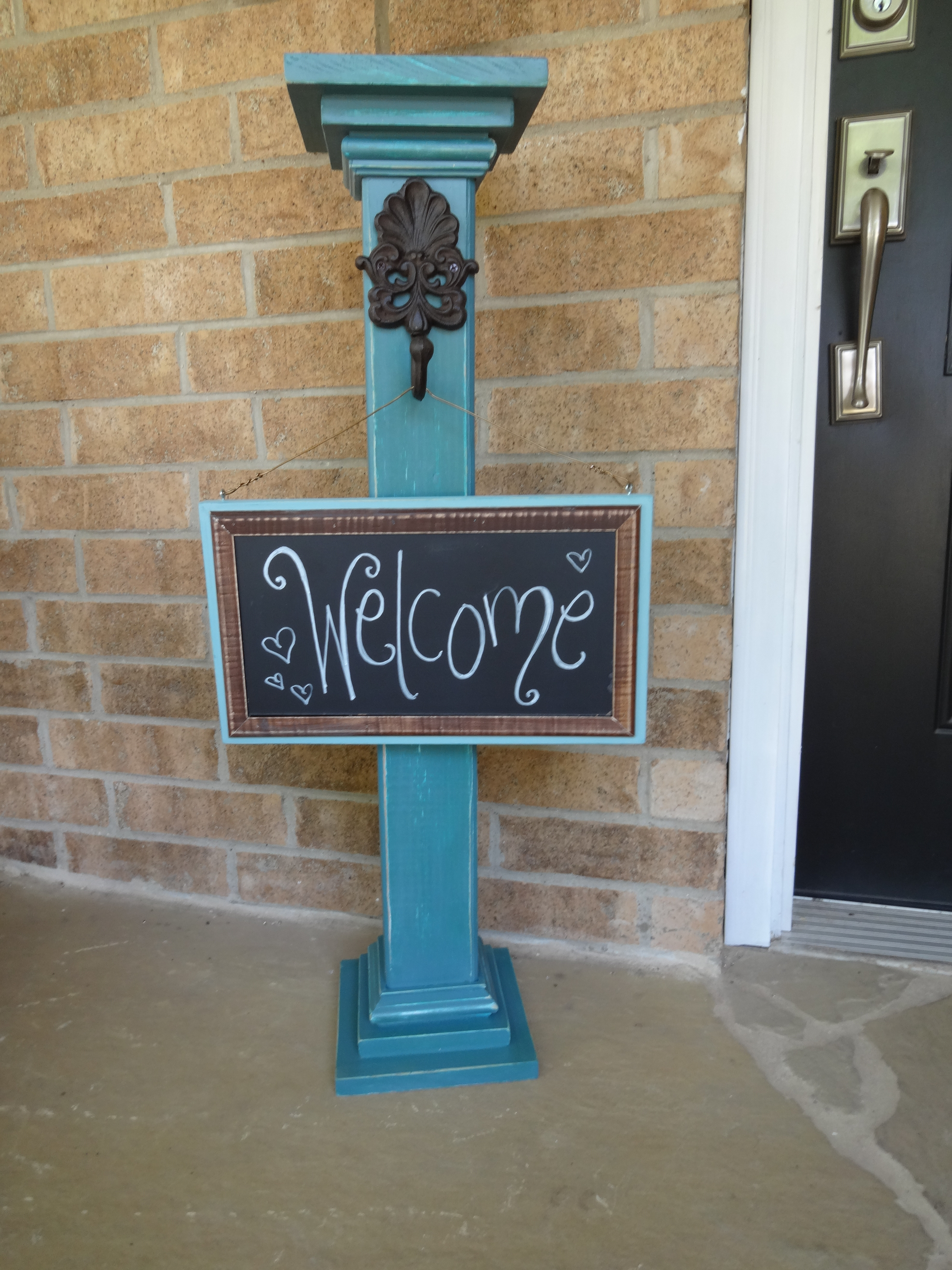 Best ideas about DIY Outdoor Sign . Save or Pin Cute DIY Wel e Signs for Your Home Now.
