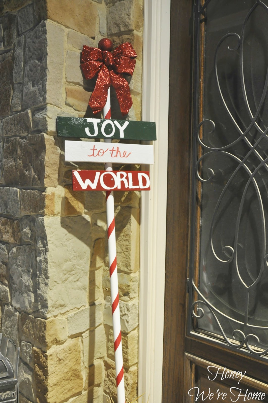 Best ideas about DIY Outdoor Sign . Save or Pin Christmas Craft DIY Outdoor Holiday Sign Now.