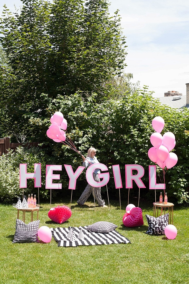 Best ideas about DIY Outdoor Sign . Save or Pin Top 10 DIY Decorations For a Birthday Party Top Inspired Now.