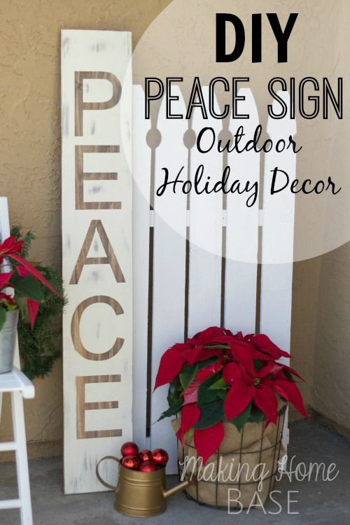 Best ideas about DIY Outdoor Sign . Save or Pin Over 100 Christmas Yard Art Plans Outdoor Decorations Now.