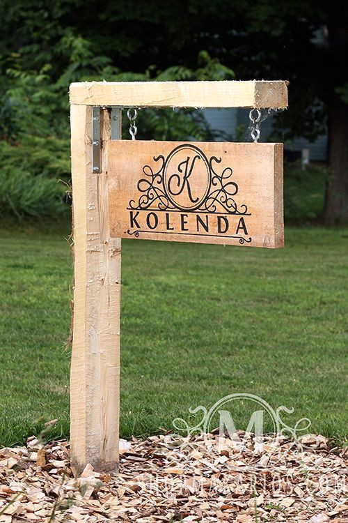 Best ideas about DIY Outdoor Sign . Save or Pin 17 best ideas about Outdoor Signs on Pinterest Now.