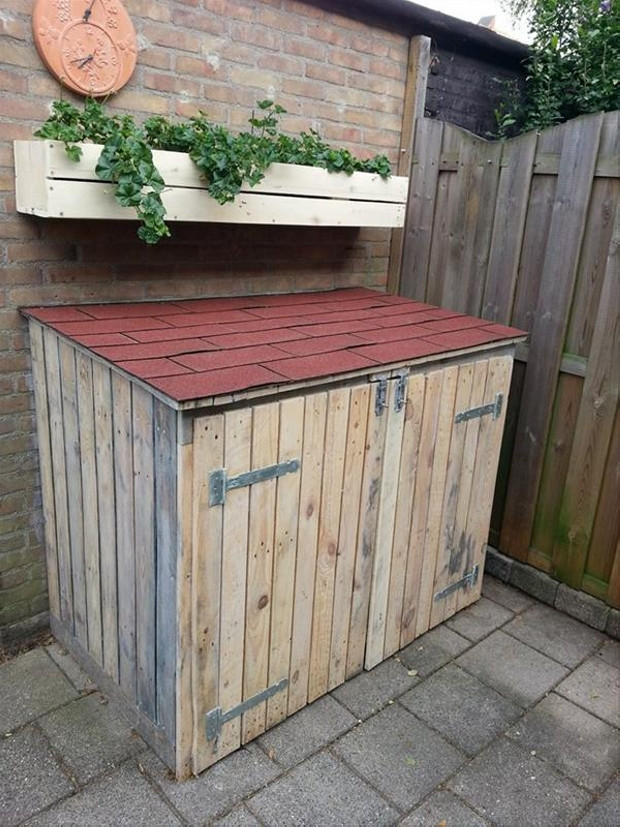 Best ideas about DIY Outdoor Storage Box . Save or Pin DIY Ideas for Pallet Chest Storage Boxes Now.
