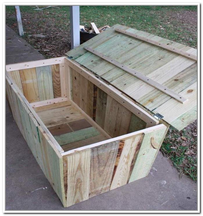 Best ideas about DIY Outdoor Storage Box . Save or Pin Diy Outdoor Storage Box Plans Miscellanous Now.