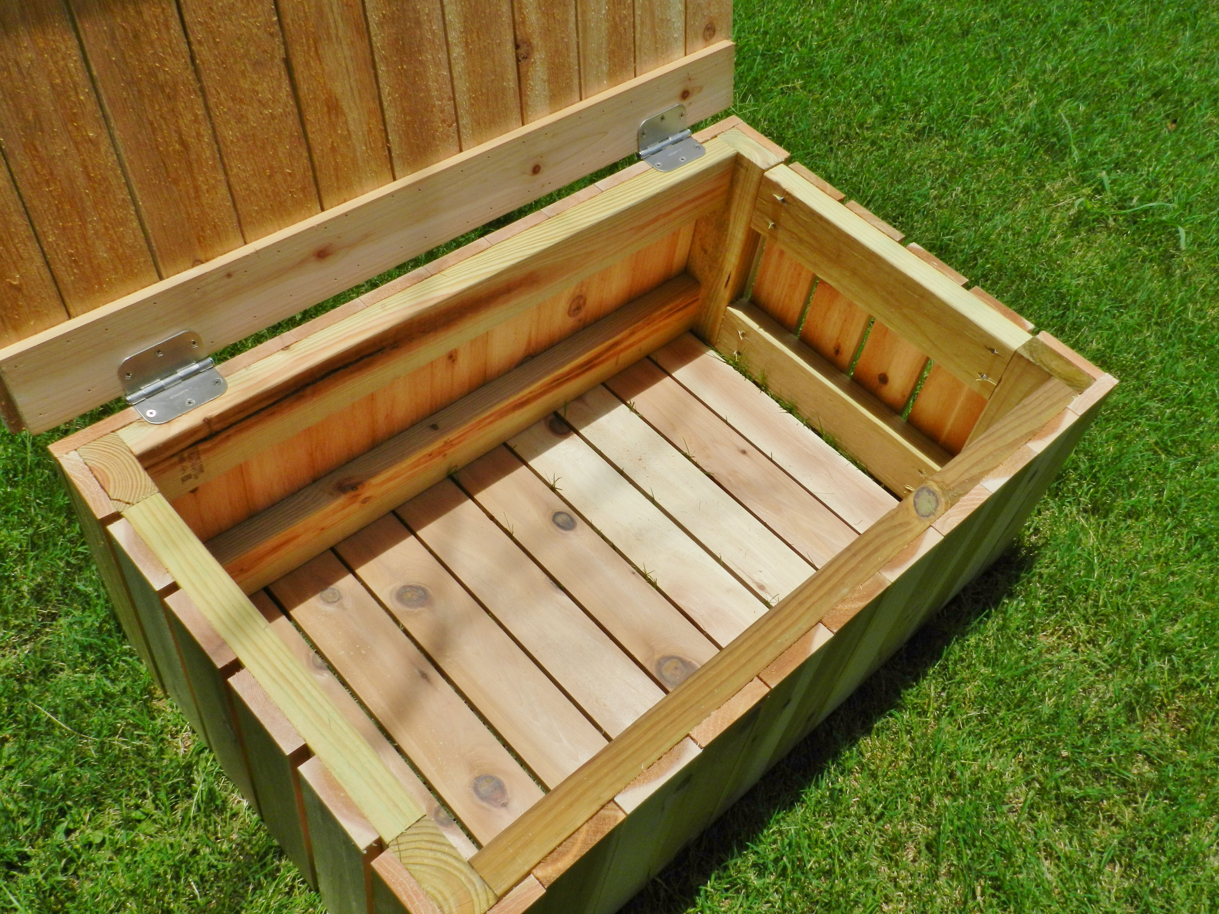 Best ideas about DIY Outdoor Storage Box . Save or Pin Deck Storage Box Bench Plans Now.